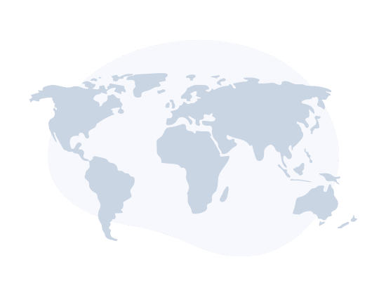 BeeLiked Illustration of the World with animation