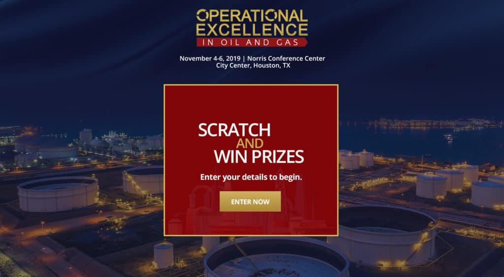 IQPC Digital Scratch Card Promotion